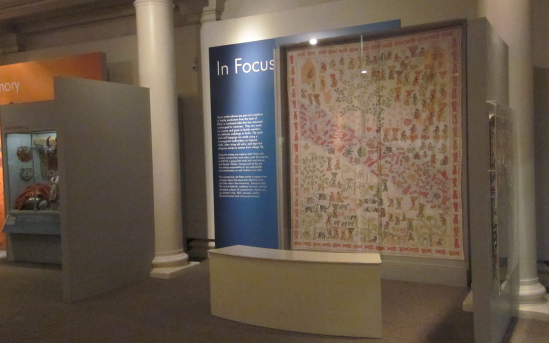 'Global Artist' Object Journeys kick-off at Leicester Arts and Museums Service