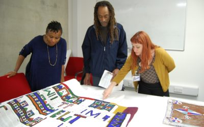 Object Journeys Fashioning Africa project and displays at Brighton Museum & Art Gallery